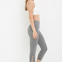 Crisscross-Ankle Capri Leggings