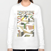 The Capital Long Sleeve T-shirt by Ilovedoodle