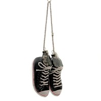 Holiday Ornaments Hightop Pair Gym Shoes Laces - GO3020