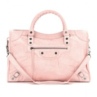 mytheresa.com -  City marbled-leather tote  - Luxury Fashion for Women / Designer clothing, shoes, bags