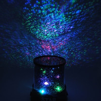 New Sky Star Master Night Light Projector Led Lamp Fun Master Children Living Room Gift Color Multicolor