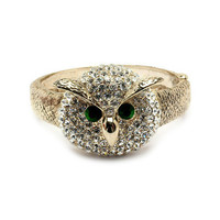 Pree Brulee - Wise & Lucky Owl Bangle
