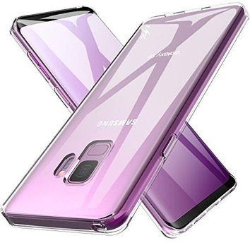 Galaxy S9 Case, TPU Rubber Soft Skin Silicone Protective Case Cover