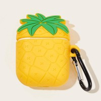 Pineapple Design Airpods Charger Box Protector