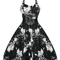 Hearts & Roses | Lillian Black Dress - Tragic Beautiful buy online from Australia