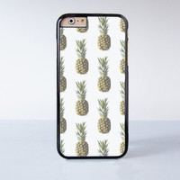 Pineapple  Plastic Case Cover for Apple iPhone 6 6 Plus 4 4s 5 5s 5c
