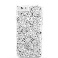 iPhone 6 iPhone 5 iphone 4/4s cover  case  Iphone Cover Accessories Cell Phone silver 925 flakes
