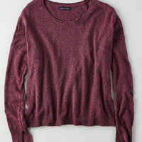 AEO Lightweight Boxy Sweater , Purple