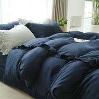 On Sale Bedroom Hot Deal Double-layered Ruffle Bedding Set [45985824793]