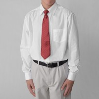 Boston Traveler Boy's Dress Shirt and Tie Set
