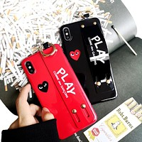 PLAY Tide brand love wristband couple models IPhone XR mobile phone case cover