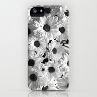 Daisy Chaos in Black and White iPhone & iPod Case by micklyn | Society6