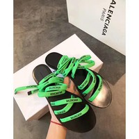 BALENCIAGA Women Fashion Sandal Slipper Shoes