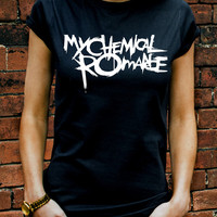 My Chemical Romance T-shirt Men Women Gerard Way The Black Parade Rock GIG R0190