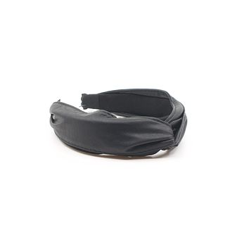 Faux Leather Headband - Middle Knot