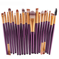 Professional Cosmetic 20PCS Make Up Brushes