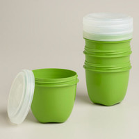 Preserve Mini Food Storage Containers, 4-Pack | World Market