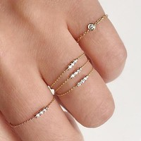 Dainty Chain Ring