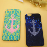 Unique Anchor Solid Case Cover for iPhone 6 6s Plus Gift