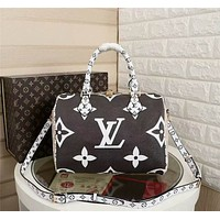 lv louis vuitton women leather shoulder bags satchel tote bag handbag shopping leather tote crossbody 63