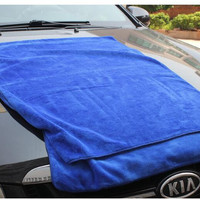 60*160 large Microfiber towel cleaning towel thickened car wash towel