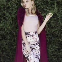 Review Australia - Black Dahlia Pencil Skirt in Floral| Shop Skirts Online from Review