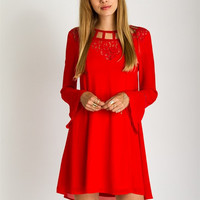 Holiday Details Dress