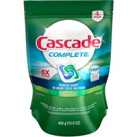 Cascade Complete ActionPacs Dishwasher Detergent Fresh Scent (choose your size) - Walmart.com