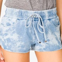 Mineral Wash Dolphin Shorts | FOREVER 21 - 2045596264