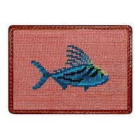 Roosterfish Credit Card Wallet in Bermuda Sand by Smathers & Branson