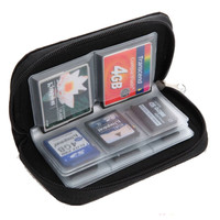 Black SD , SHDC , MCC and Memory Card Holder