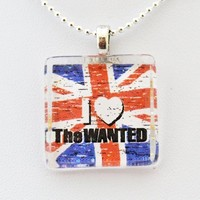 Amazon.com: The Wanted British Band -- Max George, Nathan Sykes, Siva Kaneswaran, Jay McGuiness, Tom Parker Glass Tile Pendant Necklace Jewelry Wearable Art Unique Design By Atlantic Seaboard Trading Co.: Arts, Crafts & Sewing