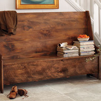 Banc Corridor Bench - Benches - Chairs & Stools - Furniture - NapaStyle