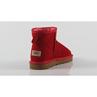 UGG 2018 winter new men and women models non-slip wild snow boots