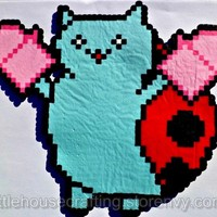 Catbug Perler from Little House of Crafting