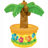 """26"""" Palm Tree Inflatable Cooler"""