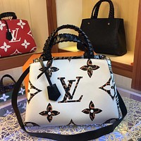 New LV Louis Vuitton Women's Leather M44671 Shoulder Bag LV Tote LV Handbag LV   Shopping Bag LV Messenger Bags