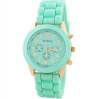 Mint Color Silicone Watch KSVZ007 Mint Green HKW859 from topsales