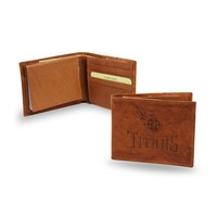 Tennessee Titans NFL Embossed Leather Billfold