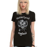 Motorhead England Girls T-Shirt