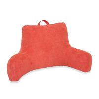 Suede Backrest in Coral