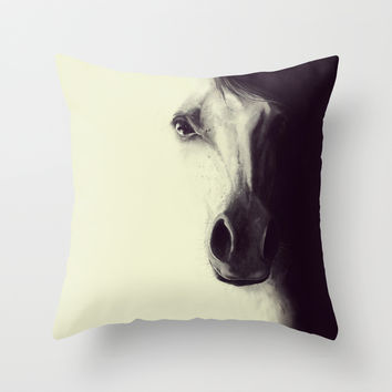 Come to me, my dream.. Throw Pillow by LilaVert