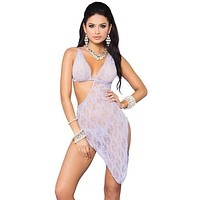 Athena's Dream Lace Toga Gown