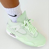 NIKE air jordan 4 aj4 women men basketball sneakers Shoes