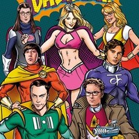 The Big Bang Theory Superheroes Poster - Buy Online at Grindstore.com