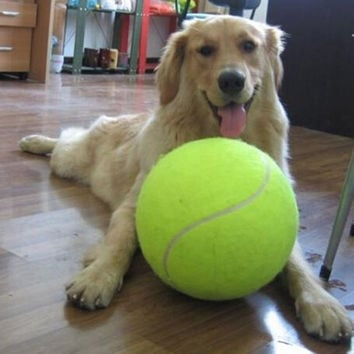 """9.5"""" Large Tennis Ball with Free Shipping"""