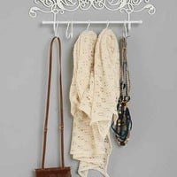 Trellis Wall Hook- Ivory One