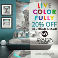 20% OFF All Home Decor Goods! Now thru April 18! by soaring anchor designs | Society6