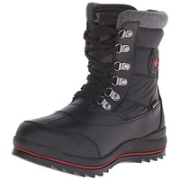 Cougar Womens Chamonix Faux Leather Waterproof Snow Boots