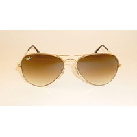 NEW Ray Ban Aviator RB 3025 001/51 SUNGLASSES Gold frame & Brown gradient Lens